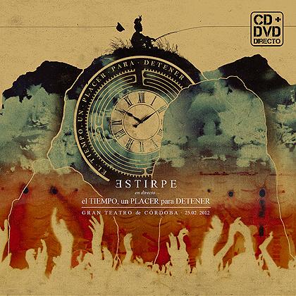 """CD+DVD Estirpe """"El tiempo, un placer para detener"""""""